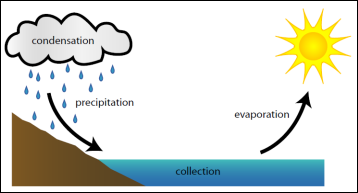 Worksheets Speech In Watercycl the water cycle a thematic language activity packet for older diagram