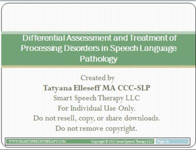 differential-assessment-and-treatment-of-processing-disorders-in-speech-language-pathology
